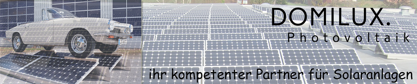 DOMILUX.  Photovoltaik